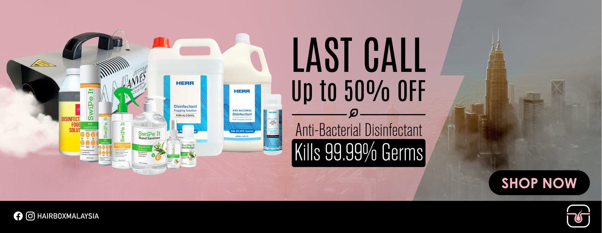 Disinfectant Product Last Call Deal!